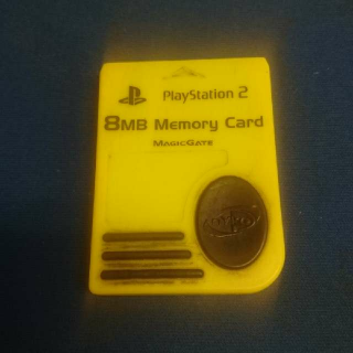 Sony Playstation 2 8mb Memory Card Magic Gate Magicgate Ps2 Original Authentic Genuine