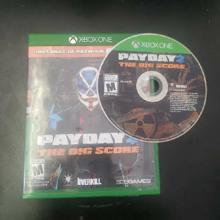 Payday $2 2 The Big Score Pay Day