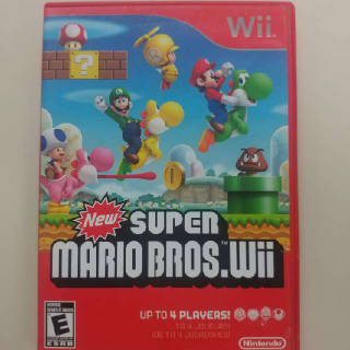 New Super Mario Bros. Wii Bros Bro Brothers Brother