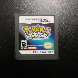 Pokemon Diamond Version Poke Mon