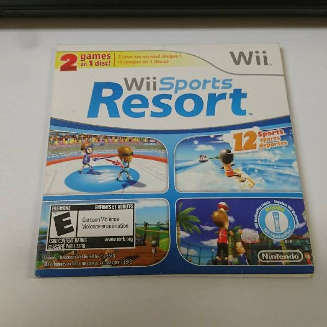 Wii Sports And Wii Sports Resort  2 Games On 1 Disc - Wii
