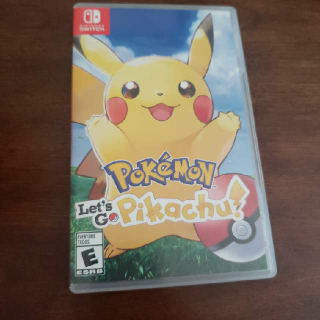 Pokemon Let's Go Pikachu! Lets Pkachu !