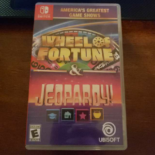 America's Greatest Game Show Wheel Of Fortune And & Jeopardy
