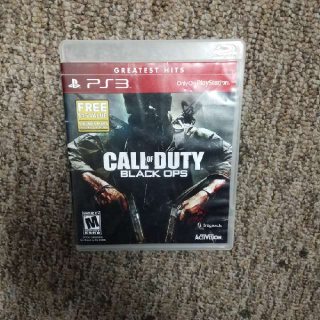 Call Of Duty Black Ops Greatest Hits Special Edition