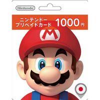 NINTENDO ESHOP CARD 1000 YEN   JAPAN ACCOUNT