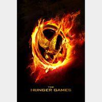 The Hunger Games HDX VUDU (NOT Instawatch)