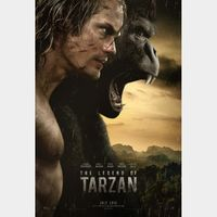 The Legend of Tarzan HDX Movies Anywhere (NOT Instawatch)