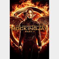 The Hunger Games: Mockingjay - Part 1 HDX VUDU (NOT Instawatch)