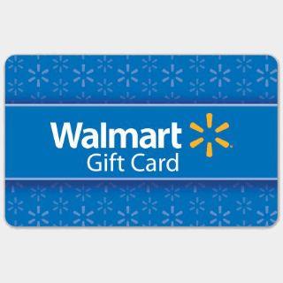 $100.00 Walmart(5x20$)