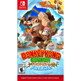 Nintendo Switch Donkey Kong Country: Tropical Freeze (digital Download)