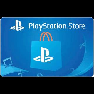 $50.00 PlayStation Store CANADA REGION