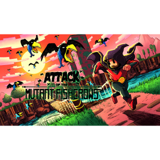 Attack of the Mutant Fishcrows [ Pc Steam ] Automatic delivery