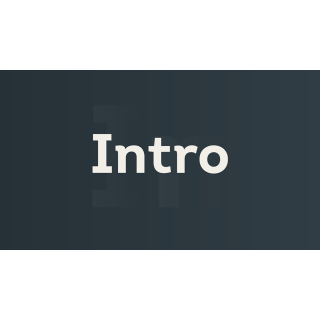 I will I will make you a YouTube intro