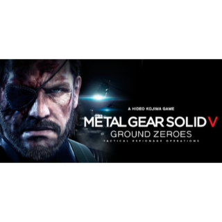 METAL GEAR SOLID V: GROUND ZEROES - Instant Delivery