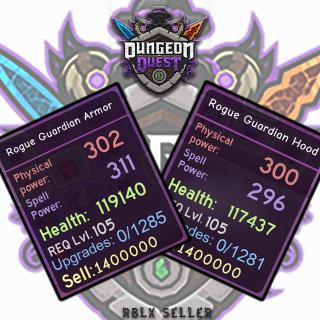 Bundle | DQ Rogue Guardian Set