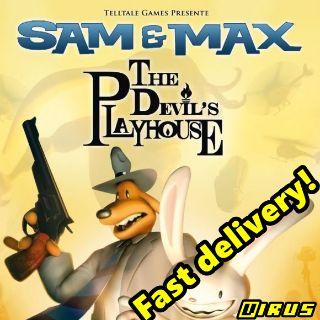 ⭐ɪɴ𝐬ᴛᴀɴᴛ!⭐ Telltale Games presents Sam & Max: The Devil's Playhouse - Instant CD-Key Global