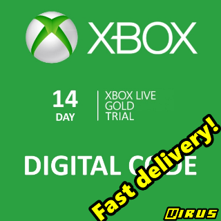 Xbox Live Gold 14 Days Trial