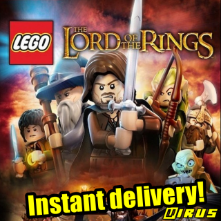 [𝐈𝐍𝐒𝐓𝐀𝐍𝐓] LEGO Lord of the Rings [Steam\RegionFree\InstantDelivery]