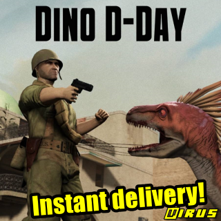 [𝐈𝐍𝐒𝐓𝐀𝐍𝐓] Dino D-Day - (4 pack)