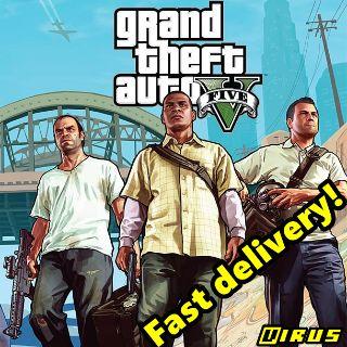 Grand Theft Auto V GTA 5 Rockstar Key GLOBAL