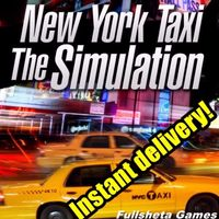New York Taxi Simulator - instant delivery - Steam key - 𝐹𝑢𝑙𝑙 𝐺𝑎𝑚𝑒