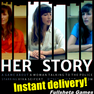 HER STORY|🅵🅶 offer! (PC/Steam) *Instant Delivery* Steam Key - 𝐹𝑢𝑙𝑙 𝐺𝑎𝑚𝑒