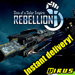 [𝐈𝐍𝐒𝐓𝐀𝐍𝐓] Sins of a Solar Empire: Rebellion - Instant CD-Key Global