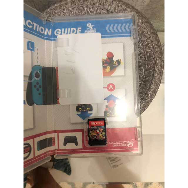 Mario Kart 8 Deluxe with Link amiibo nfc tag - Nintendo Switch Games