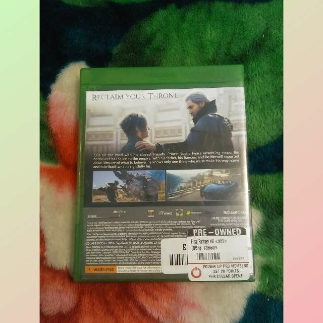 Final Fantasy XV Xbox One - XBox One Games (Good