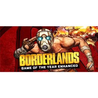 Borderlands Game of the Year Enhanced ROW INSTANT DELIVERY