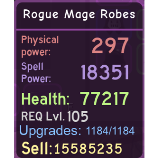 Other | Rogue Mage Robes