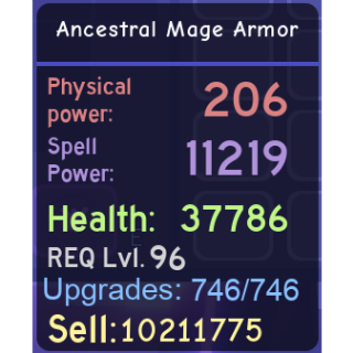 Other | Ancestral Mage Armor