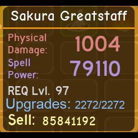 Other | Sakura Greatstaff
