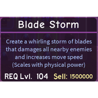 Other | 2x Blade Storm