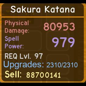 Other | Sakura Katana 80.9k