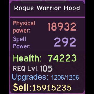 Other | Rogue Warrior Hood