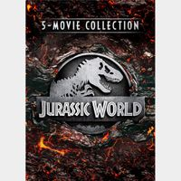 Jurassic Park 5-Movie Collection (Movies Anywhere)