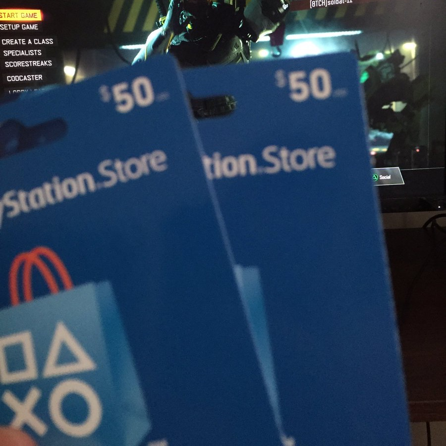 $50 PLAYSTATION CARD - PSN Games - Gameflip