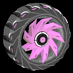 Helicoprion | Pink
