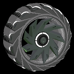 Helicoprion | Black