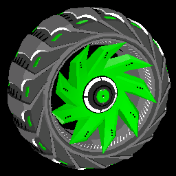 Helicoprion | Forest Green