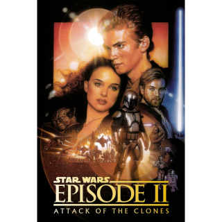 Star Wars: Episode II - Attack of the Clones | HDX | Google Play (MA)