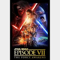 Star Wars VII: The Force Awakens | HDX | Google Play (MA)
