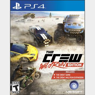 The Crew Wild Run Edition PS4 DIGITAL CODE