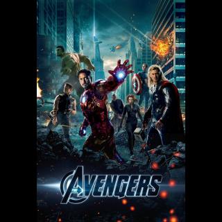 The Avengers UHD  VUDU|ITUNES|MA