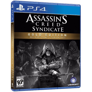 ASSASSIN'S CREED SYNDICATE GOLD EDITION PS4 DIGITAL CODE