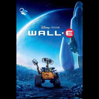 WALL·E VUDU|ITUNES|MOVIES ANYWHERE