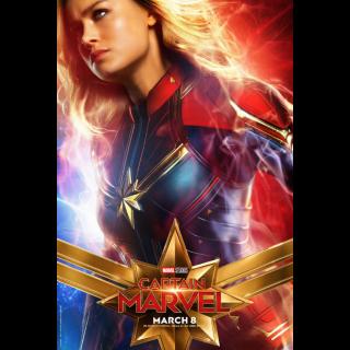 Captain Marvel VUDU|ITUNES|MA