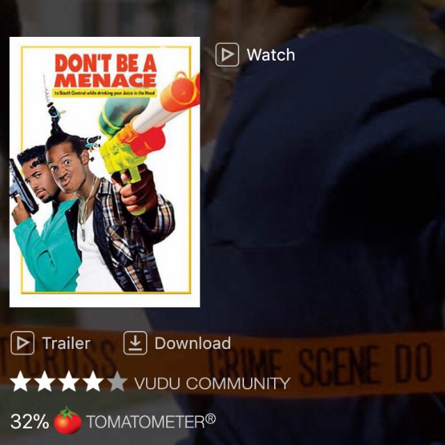 dont be menace to south central trailer