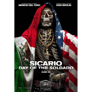 Sicario: Day of the Soldado HDX/HD MA